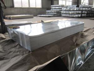 Hot-dipped-Galvanized Steel Sheet in Sheet