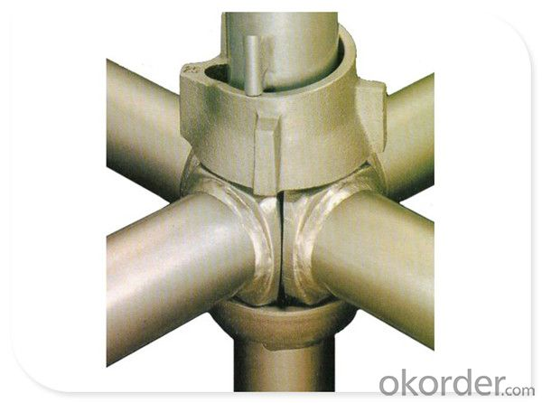 Q235 Galvanized Steel Cuplock Scaffolding System for Large Building Construction CNBM