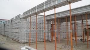 Aluminum Formworks System for Construction Buildings With High Load Capacity