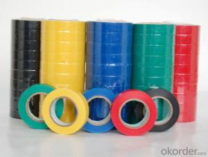 PVC Electrical Insulation Tape Colorful for Cable Wrapping