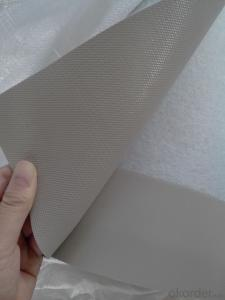 Polyvinyl Chloride (PVC) Waterproofing Membrane Polyester Scrim Reinforced