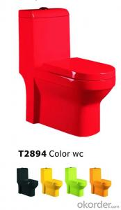 Maxceramic Sanitary Ware hot sell for MIdest BD One Piece Toilet Washdown Toilet Siphonic Toilet