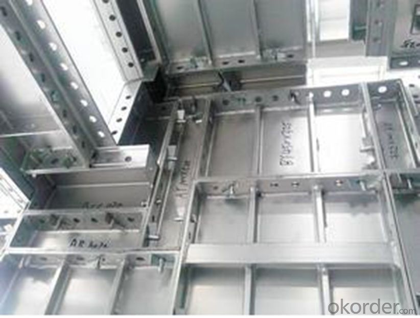 Aluminum Formworks for Civil Commercial Buildings With High Reuse