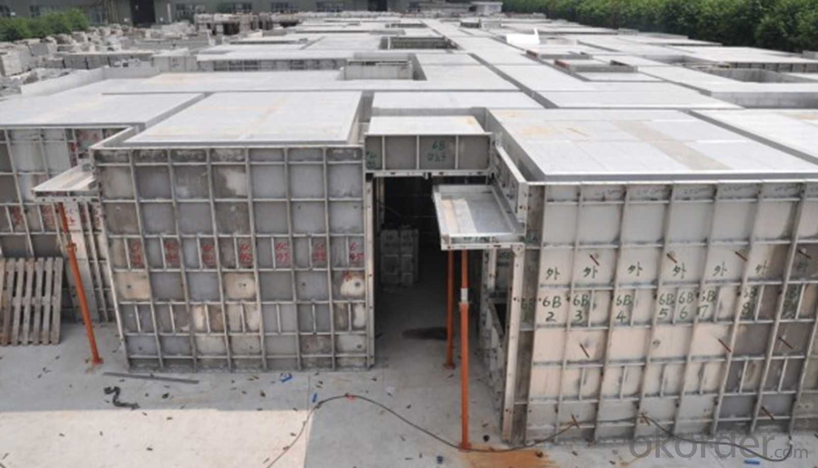 Aluminum Formworks for Civil Commercial Buildings With High Load Capacity
