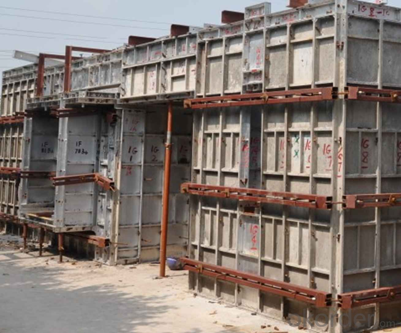 Aluminum Formworks System for High Commercial Buildings