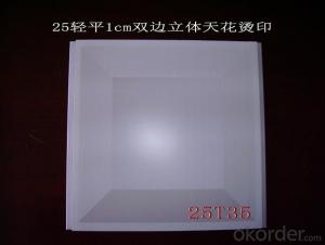 PVC Gypsum Ceiling Tiles & Wall Partition System
