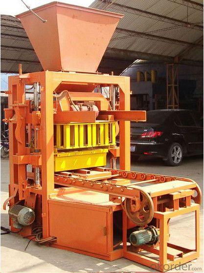 Automatic Concrete Hollow Brick Machine for Big Size of Bricks and Blocks  QTJ4-26