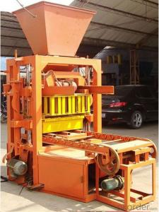 Automatic Concrete Hollow Brick Machine for Big Size of Bricks and Blocks  QTJ4-26