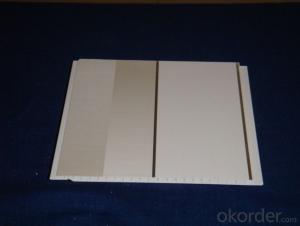 PVC Gypsum Cheap  Suspended Ceiling Tiles