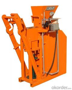 Interlocking Block Machine Hydraulic Semi Automatic Top Sell