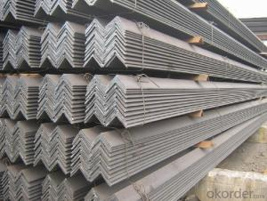 Hot rolled angle steel ASTM A36 or GB Q235  20-250mm