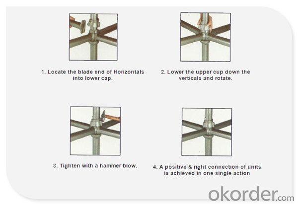 Galvanized Cuplock System Scaffolding|Scaffolding Cuplock System CNBM