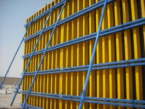 Timber Beam Wall  Formwork with Long-time Applications