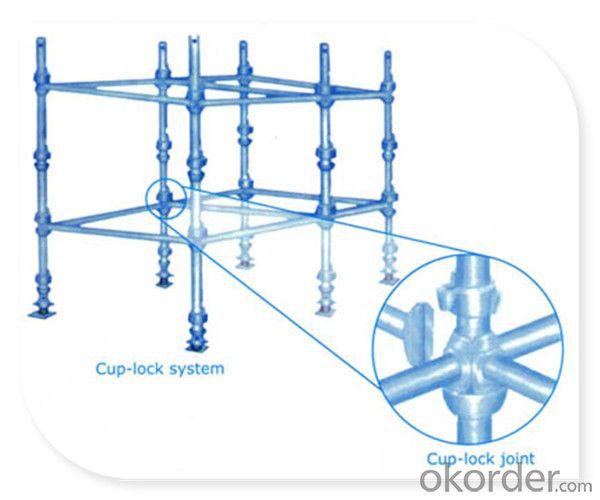 Galvanized Cuplock Scaffold System for Construction Formwork CNBM