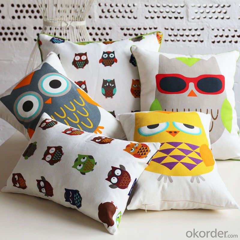 Popular Pillow Cushion Cover with Good Quality for Decoration