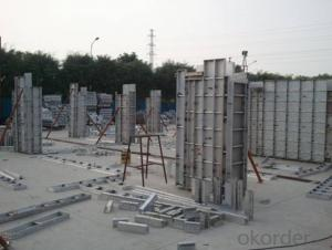 Aluminum Formworks System for High-Rise Construction Buildings With Good Quality