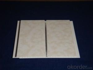 PVC Iaminated Gypsum Ceiling Tiles / PVC Gypsum Board