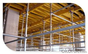 Painted Steel Cuplock Scaffolding with SGS Standard CNBM