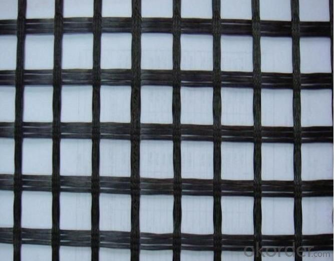 Fiberglass Geogrid Mesh 25.4*25.4  Used In Softbed Foundation