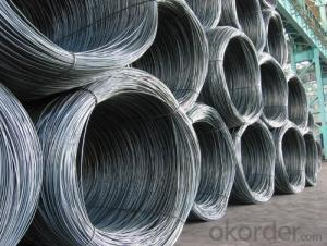 Hot rolled high quality wire rod SAE1008 SAE1006