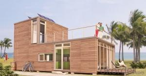 Sandwich Panel 20FT Container Houses with Decorative Claddings Modern Design