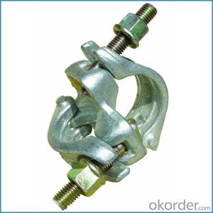Double Scaffold Clamp Britis German Forged Type