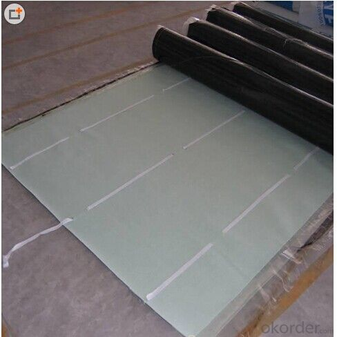 High Elastomeric EPDM Rubber Roofing Waterproof Membrane