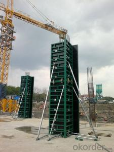 Steel Frame Formwork GK120 for High-rise Building