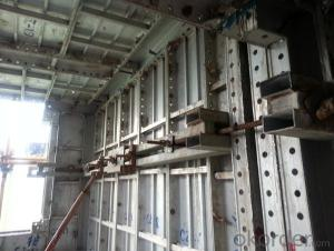 Aluminum Formworks System for Construction Buildings With High Turnover Rate