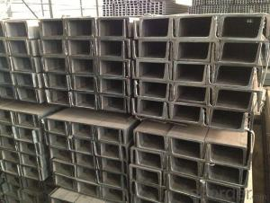 Hot Rolled MS Mild JIS Steel U Channels for Strcutures