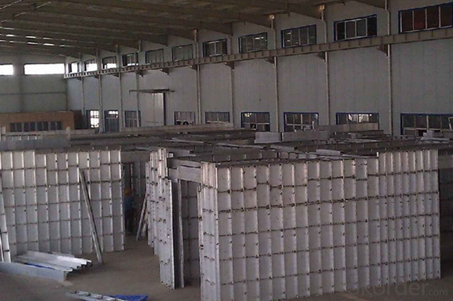 Aluminum Formworks System for Construction Concrete Buildings With Good Load Capacit