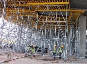 Table Formwork for High-rise Building with Ring-lock Scaffolding