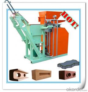Interlocking Block Machine Hydraulic Semi Automatic Small Clay Brick