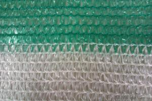 Shading Net for Agriculture Usage and Greenhouse Usage Brand New Material 3%UV added