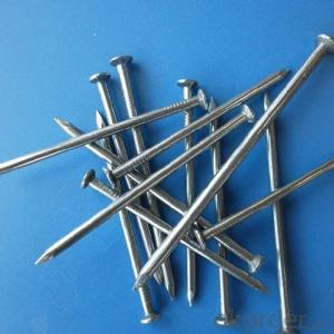 Common Nail Steel Carbon Nails Polished Nail Wholesale Price