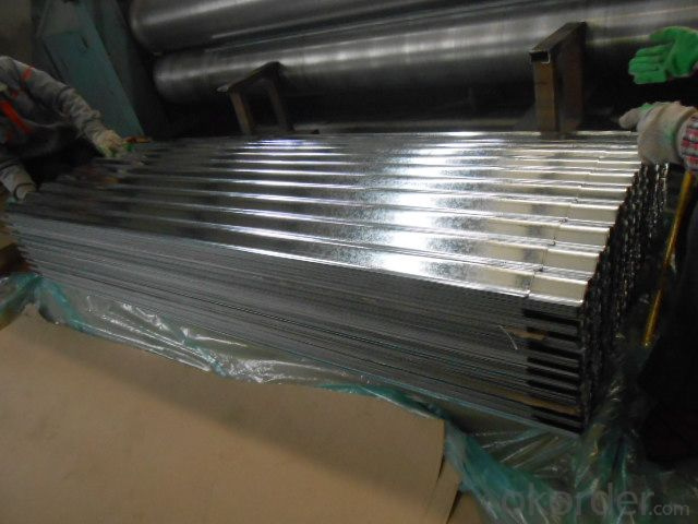 Corrugated Hot Dipped Galvanized Steel-Sheet