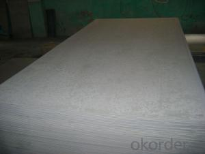 White Color Fiber Cement Board Without Asbestos
