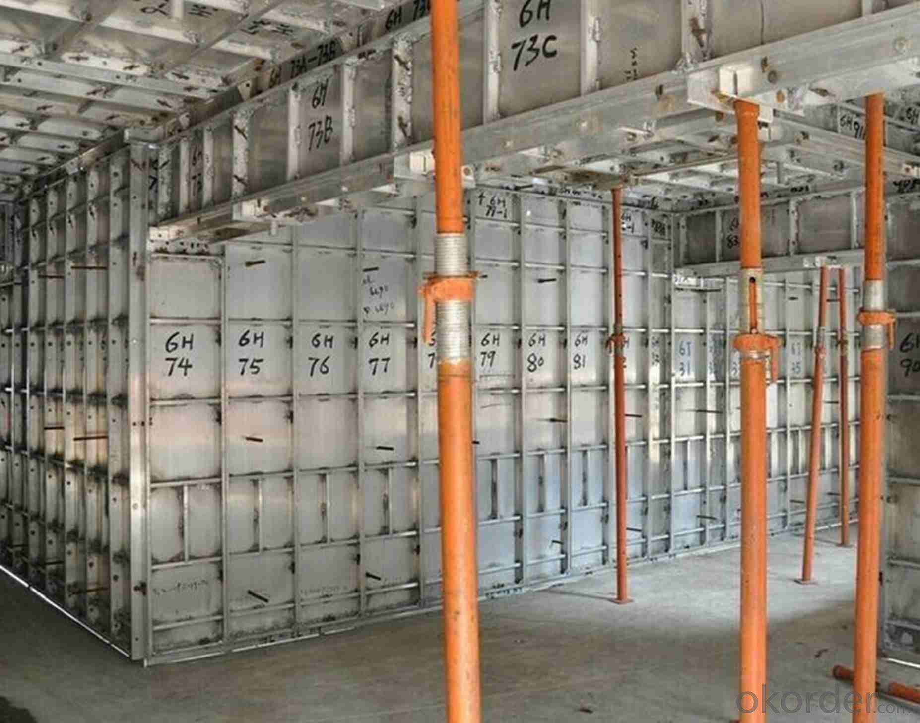 Aluminum Formworks System for Construction Concrete Buildings With High Load Capacity