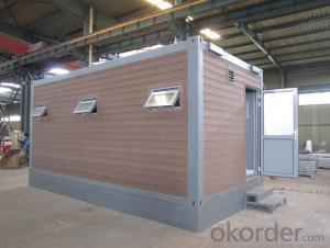 Steel Structure and EPS Sandwich Panels Prefab Container House Manufacturer
