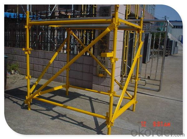 Metal Kwikstage Scaffolding System for Building Construction Project CNBM