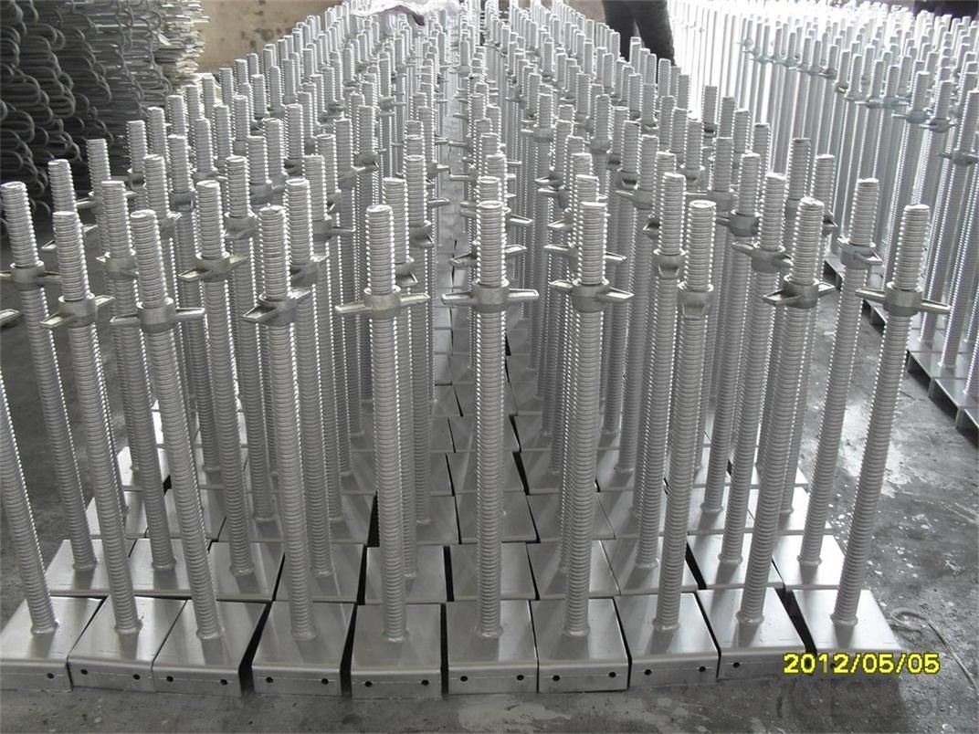 Ring lock or Tower Scaffolding with Hot or Cold Galvanized Surface