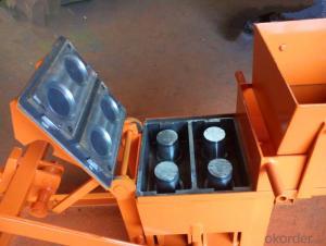 Interlocking Compressed  Block Making Machine QMR2-40 Low Investment business