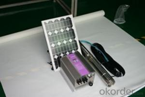 AC Solar Water Pumps for Irrigation Purpose