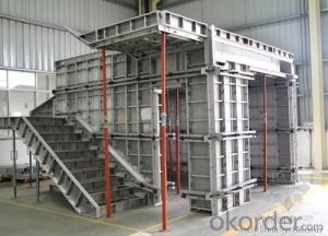 Aluminum Formwork for Slab Roof with Steel Prop