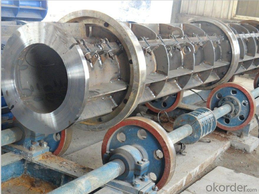 Pre-stressed Concrete Electric Pole Making Machine Mould Equipment