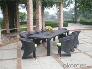 Durable Popular Garden Wicker Furniture Wedding Chairs And Table