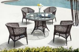 Fashionable Outdoor Leisure Tea Table And Chair Set