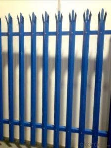 Pacific Ocean Popular Sold Palisade Fence