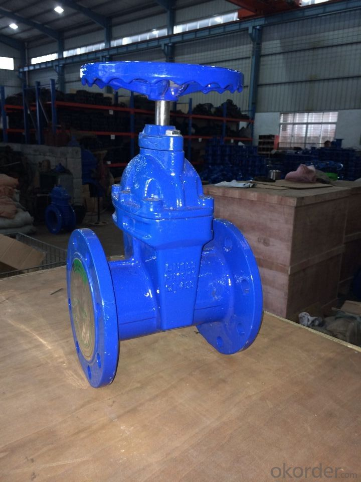 Ductile Iron Gate Valve Non-Rising Stem of DIN3352 F5