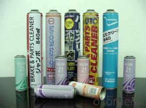 MR Tinplate GIS G3303, Aerosol Can Usage